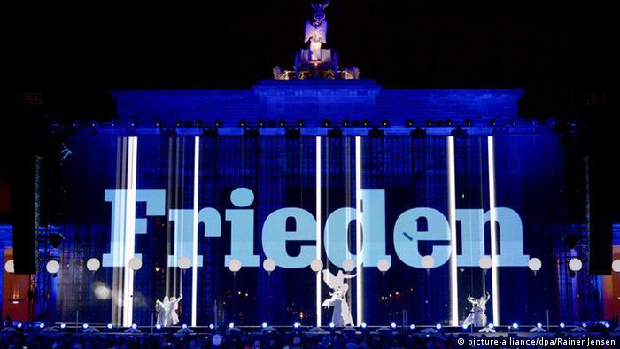 Celebraciones de los 25 años de la caída del Muro de Berlín. (9.11.2014).