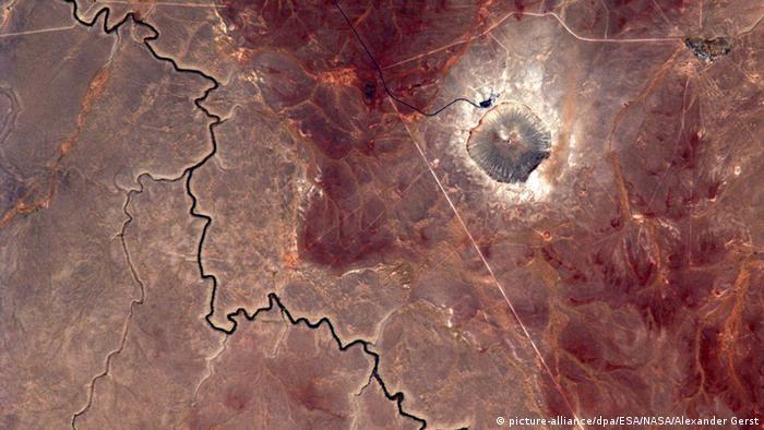 Blick des Astronauten Gerst auf die Erde