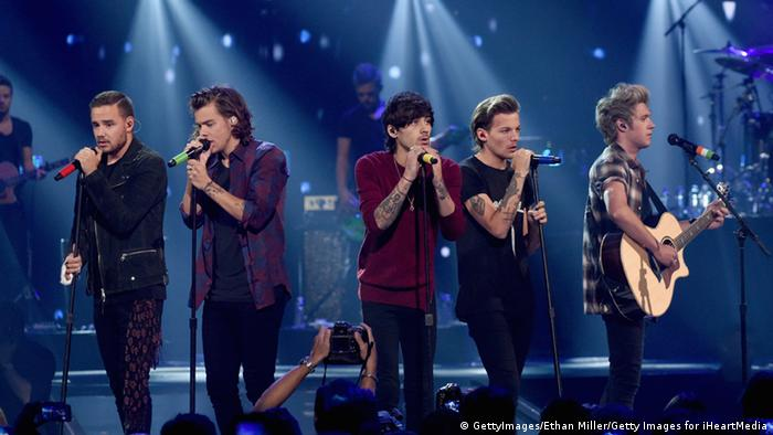 MTV EMA 2014 european music awards One Direction vom iHeartRadio Music Festival