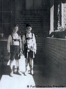 Max and Leo Pressler, approx. 1935. Copyright: Familienarchiv Pressler