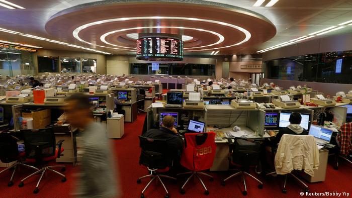 China Börse Hongkong Shanghai (Reuters/Bobby Yip)