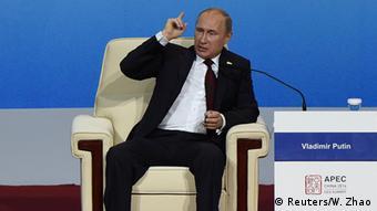 Putin, en la cumbre de la APEC.