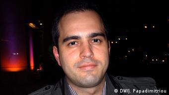 Alexandros Lagakos, Energieexperte (DW/J. Papadimitriou)