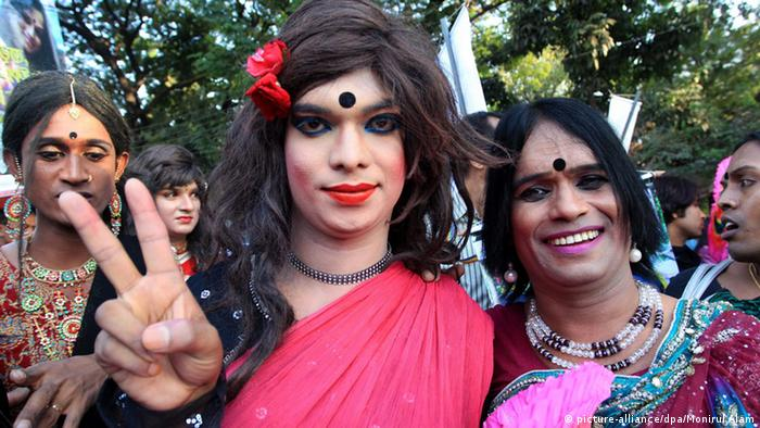 Hijra Day Transgender Pride Parade in Dhaka, Bangladesch (picture-alliance/dpa/Monirul Alam)