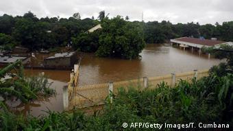 Überschwemmungen in Mosambik 2013