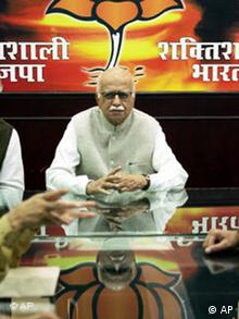 Bharatiya Janata Party President L.K.Advani