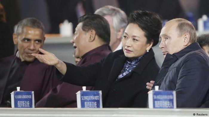 Покуда Си Цзиньпин беседовал с Обамой, Путин заигрывал с Пэн Лиюань