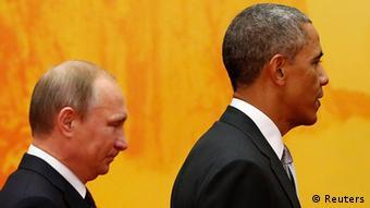 APEC Gipfel Wladimir Putin und Barack Obama 11.11.2014 Peking