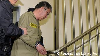 Gerichtsprozess Fähre Sewol Kapitän Lee Joon-seok 11.11.2014