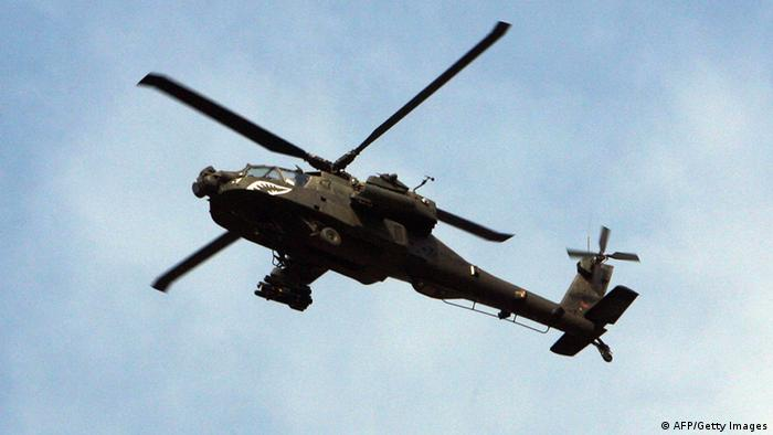 Helikopter Apache USA im Irak (AFP/Getty Images)