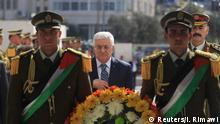 Arafat 10. Jahrestag Abbas Kranzniederlegung 11.11.2014