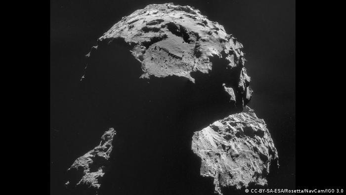 Komet 67P Agilkia landing