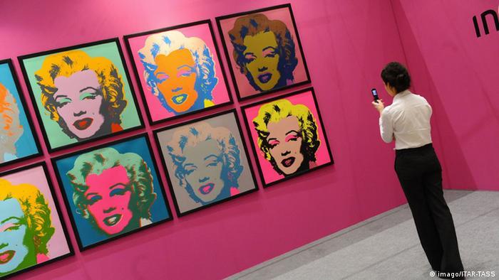 Warhol-Portrait von Marilyn Monroe