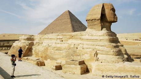 Ägypten Pyramiden Sphinx