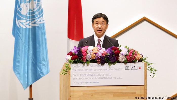 UNESCO-Weltkonferenz Bildung für nachhaltige Entwicklung 2014 in Nagoya, Japan (picture-alliance/dpa/T. Kawada)
