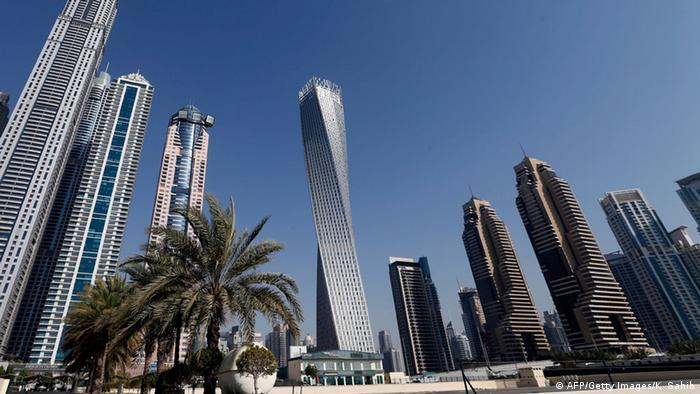 The Cayan tower, the world's tallest twisted tower (AFP/Getty Images/K. Sahib)