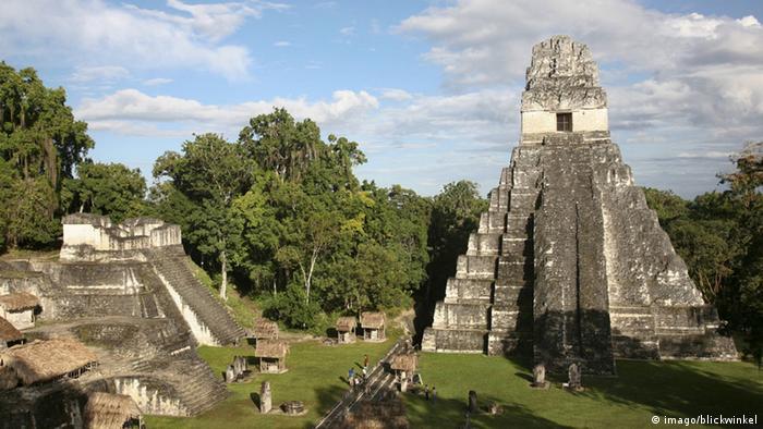 Tikal, na Guatemala