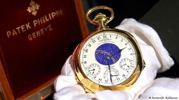 Versteigerung der Uhr The Henry Graves Supercomplication bei Sotheby`s