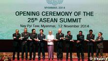 ASEAN-Gipfel in Myanmar 12.11.2014