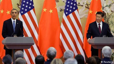 Barack Obama und Xi