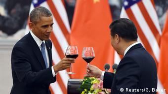 Barack Obama und Xi Jinping in Peking 12.11.2014