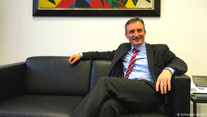 Düsseldorfer OB Thomas Geisel im DW-Interview