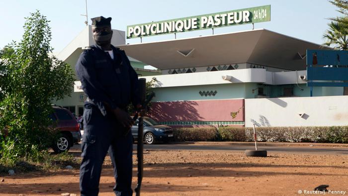 Ebola Pasteur Klinik in Bamako Mali 12.11.2014