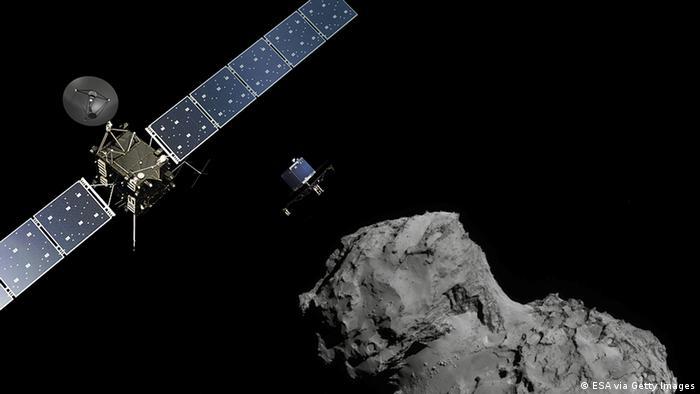 Raumfahrt ESA Weltraumsonde Rosetta - Landeeinheit Philae