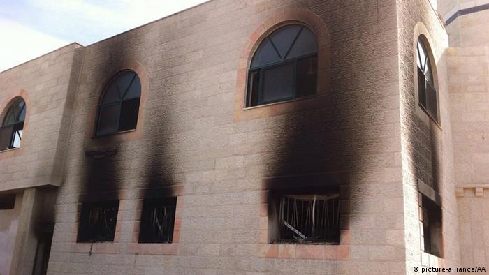 Jüdische Siedler zünden Moschee im Westjordanland an 12.11.2014