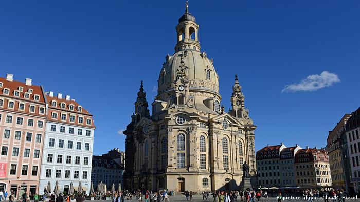 Deutschland Dresdner Frauenkirche