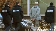 Mutmaßlicher Terrorhelfer wird dem Haftrichter vorgeführt Archiv 2008