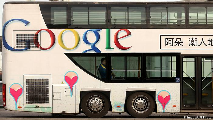 China Google Bus in Peking