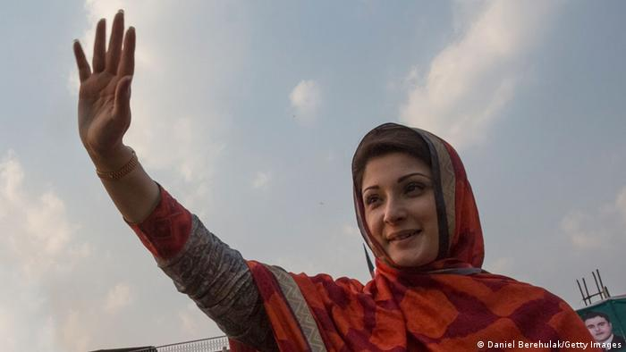 Maryam Nawaz Sharif 2013 (Daniel Berehulak/Getty Images)