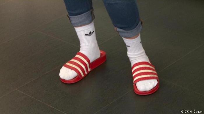 Germans, socks and sandals: An