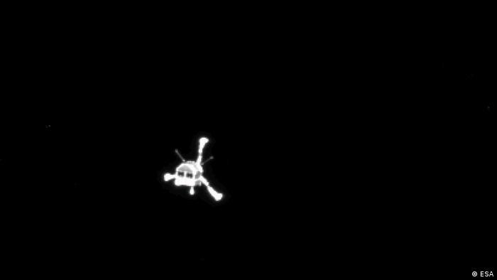 Raumfahrt ESA Weltraumsonde Rosetta verlässt Tschurjumow-Gerassimenko Komet