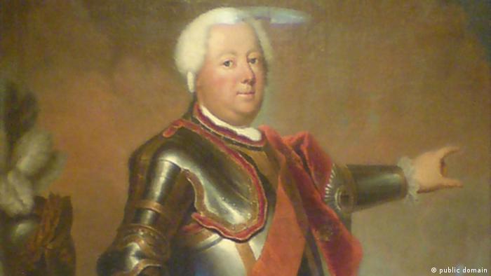 König Friedrich Wilhelm I. von Preußen 1733