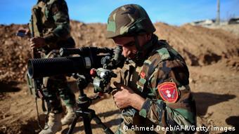Kobane Kurden Peschmerga Kämpfer 08.11.2014