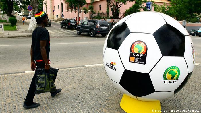 Werbeball für den Afrika-Cup 2010