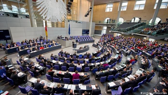 Bundestag Plenarsaal Sitzung