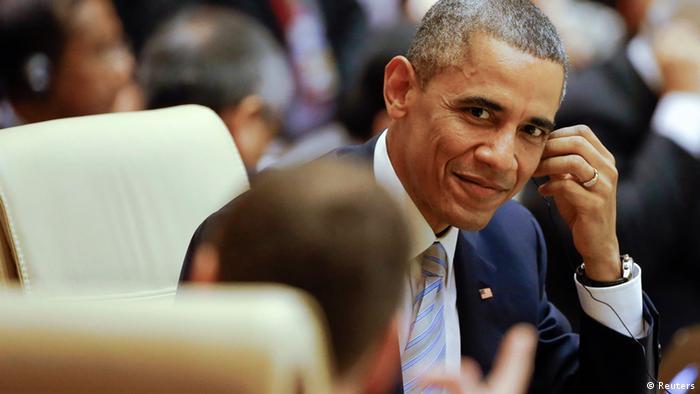 Barack Obama ASEAN Gipfel in Myanmar 13.11.2014