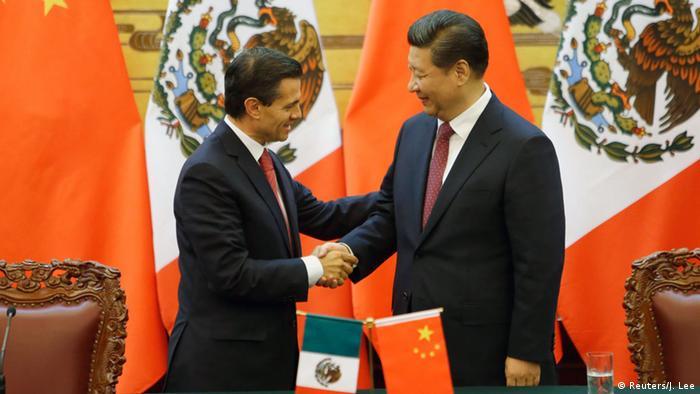 Treffen Mexiko China Pena Nieto Jinping