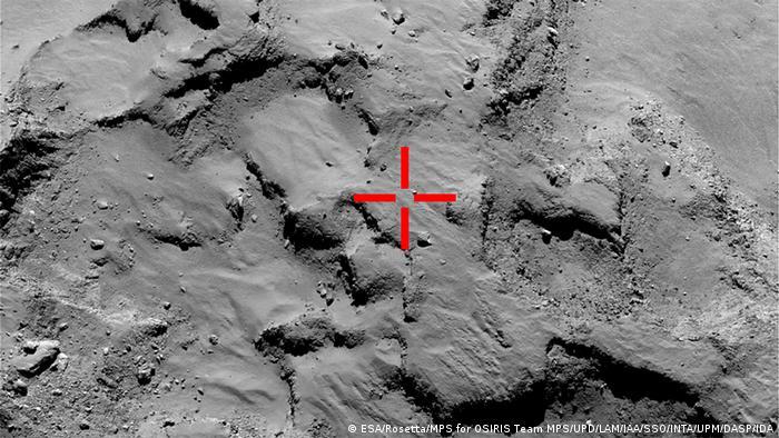 Raumfahrt ESA Weltraumsonde Rosetta Philae Landung Tschurjumow-Gerassimenko Komet