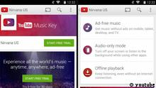 Screenshot Youtube Music Key