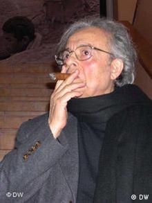 Syrian poet Adonis in Teheran, 2005