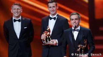 Bambi-Verleihung 2014 Philipp Lahm, Miroslav Klose, Bastian Schweinsteiger