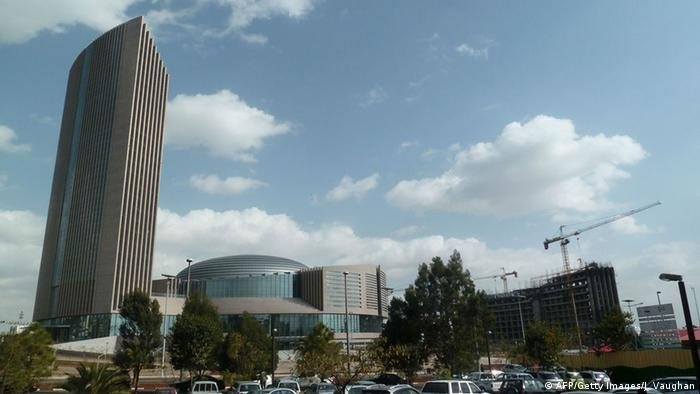 African Union Hauptquartier in Addis Abeba