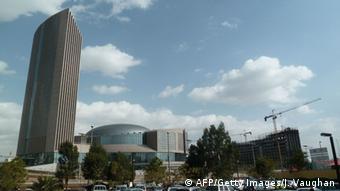 African Union Hauptquartier in Addis Abeba