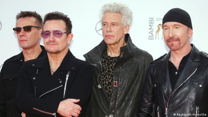 Bambi-Verleihung 2014 U2