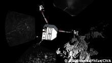 Raumfahrt ESA Weltraumsonde Rosetta Philae auf dem Tschurjumow-Gerassimenko Komet