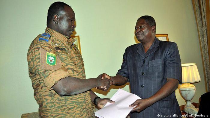 Burkina Faso Einigung in Ouagadougou Konferenz Oberst Yacouba Isaac Zida